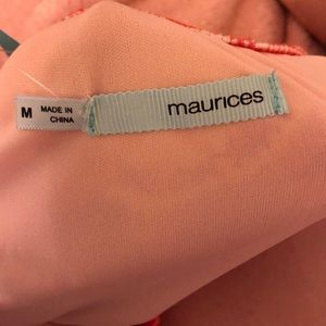 Maurices Dresses - Pink and Orange Maurice's summer dress